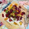 Мармелад-ассорти из натурального сока ягод и фруктов: яблока, вишни, клубники, лимона, апельсина и черной смор