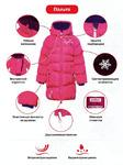 Premont зимнее пальто Клубничный пудинг WP91351 PINK 11 лет (146 см+6 см)