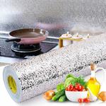 Пленка-фольга самоклеющаяся многофункциональная для защиты кухни