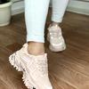 Женские кроссовки 5003-5 светло-персиковые