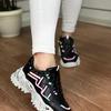 Женские кроссовки 5003-1 черные