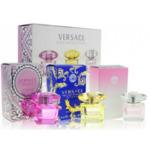 Подарочный парфюмерный набор Versace Miniatures Collection 3 в 1