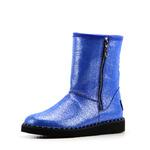 Угги женские кожаные ED'ART 240.1550.blue