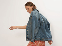 Джинсовая куртка N019/detroma