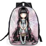 SUZANW-120 Рюкзак, выполненный по волшебным дизайнам удивительной художницы Suzanne Woolcott.