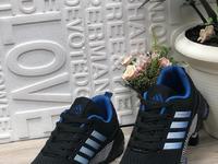 Мужские кроссовки 9219-2 черно-синие