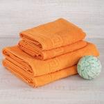 """Махровое полотенце """"Греческий бордюр""""- 50*90 см. хлопок 100%"""