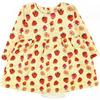 Платье-боди футер 1130300102 для новорожденного