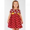 Платье кулирка 1215100201 для девочки