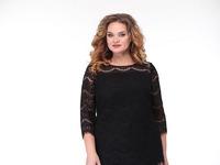 Блуза, брюки Anastasiya Mak 767 черный