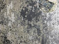 Портьера жаккард Мишлен Артикул: 33/3DX659-10 сер+графит+крем  Ширина рулона: 280  Состав ткани: 100% полиэстер
