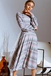 Ажурное сиреневое платье