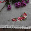 Дорожка льнаная с вышивкой , размер 75х50