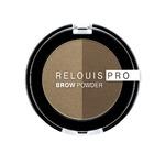 Тени для бровей RELOUIS PRO Brow Powder, тон:01 BLONDE