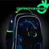 Школьный ранец NUK21-G1001-03 маренго; ярко-зеленый