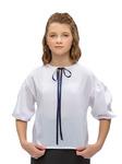 Блузка арт.10609 син   рост 134-170