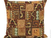 Гобеленовый декоративный чехол для подушки «Перу»