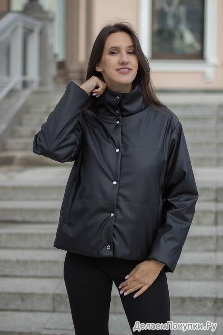 Куртка Sisteroom  артикул КЭ-013 черны