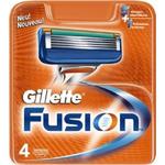 Сменные кассеты Gillette Fusion (4 шт) - 2489
