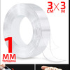 Акриловая двухсторонняя прозрачная клейкая лента 30мм*3 метра*1мм