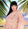 Туника пляжная для полных женщин