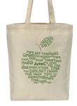Хлопковая сумка Яблоко