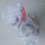 панамка-шляпа с прорезями для хвостиков  2-3 года