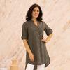 Рубашка-туника (хлопок) вышивка №20-341-3