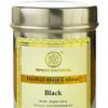 Краска для волос травяная Черная, 150 г, производитель Кхади; Black Herbal Hair Colour, 150 g, Khadi