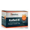 Леденцы от кашля с имбирем и медом Кофлет-Х, 60 шт, производитель Хималая; Koflet-H Ginger and Honey, 60 pcs, Himalaya
