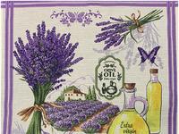 Полотенце вафельное LAVANDER - масло р-р 50х60