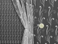 Сетка вышивка 12ST008 Артикул: 91/12ST008-белый  Ширина рулона: 280