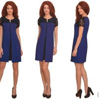 2081 Платье Синий Размер 50