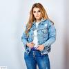 Куртка джинсовая с капюшоном EZ-5575
