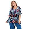 Блуза-туника артикул 4-027 цвет 198