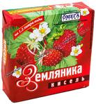 Омега Кисель 170 гр. Земляника