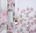 Имитация льна Лилии Артикул: 35/2442-1 розовый  Ширина рулона: 2,8 м