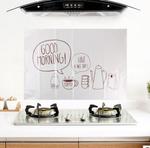 Наклейка жироотталкивающая для кухни Good Morning
