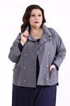 короткая куртка из плащёвки
