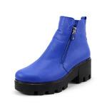 Ботинки женские кожаные ED'ART 301.pilar.blue