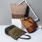 BG-1663  Новая модель 2021г  Удобная, вместительная, модная сумка-шоппер на молнии.