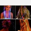 Светящаяся прядь-украшение для волос на заколке 9046300
