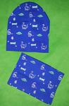 Комплект детский (снуд+шапка) №АЛ118-15 на 2-8 лет , размер 46-54 универсальный