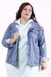 Молодёжная демисезонная джинсовая куртка