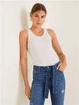 Прямые джинсы с ремнем (mango)
