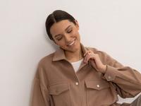 Куртка рубашечного кроя R075/affair