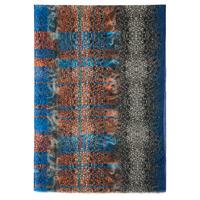 """Палантин шерстяной набивной """"10244"""", вид 14, 80х230 см Рисунок 10244-14"""