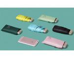 UMBR-20001 Плоский мини-зонтик в 5 сложений, выполнен из прочных инновационных материалов с усиленной конструкцией.  Идеально подходит для небольших и маленьких сумочек.