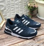 Женские кроссовки 8076-2 темно-синие