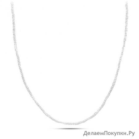 Серебряное колье Артикул 050001a-210-325